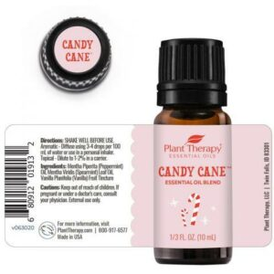 Plant Therapy Candy Cane Essential Oil Blend 10ml