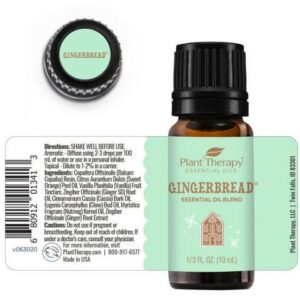 Plant Therapy Gingerbread® Essential Oil Blend 10ml