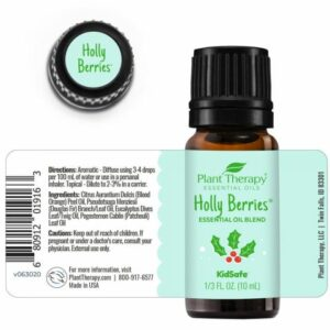 Plant Therapy Holly Berries Essential Oil Blend 10ml