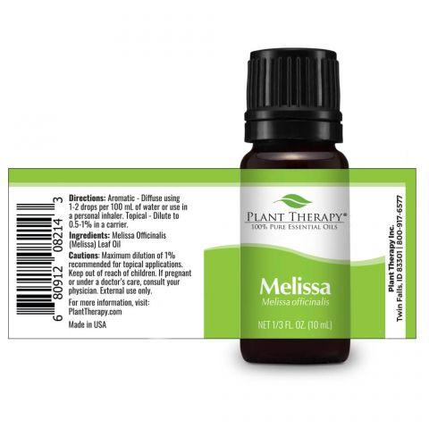 Plant Therapy Melissa Essential Oil
