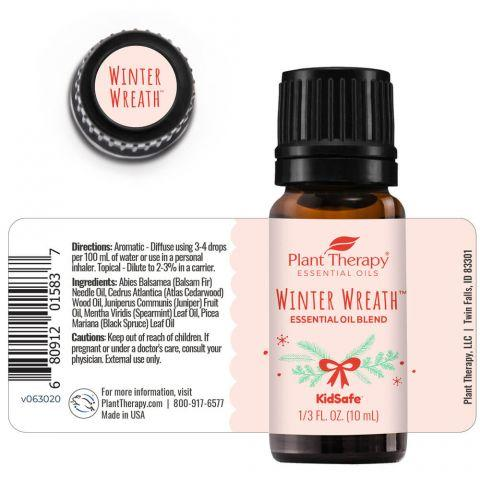 Plant Therapy Winter Wreath™ Essential Oil Blend 10ml