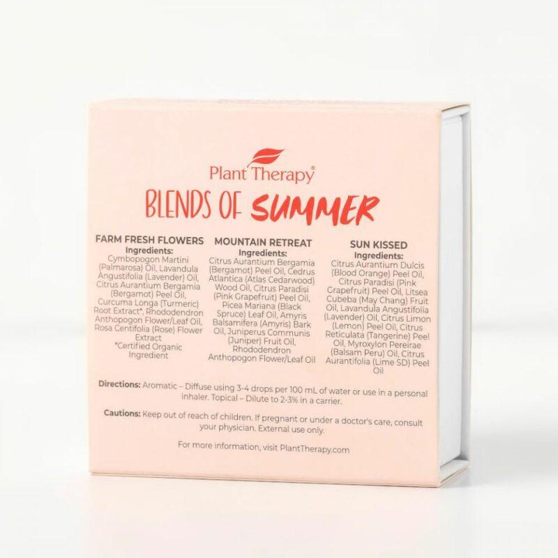 Blends of Summer Essential Oil Set
